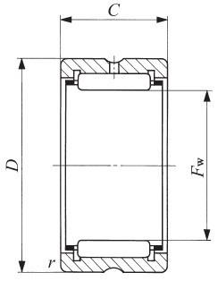 TAF506225,IKO,型号参数查询