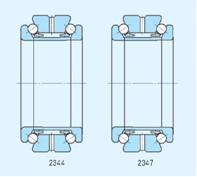 Dimensions Chart of Thrust Ball Bearings-轴承有限公司