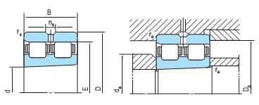 精密双列圆柱滚子轴承(30~280)