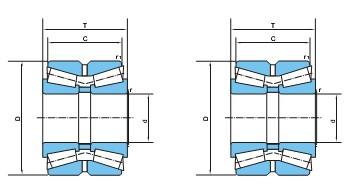 双列圆锥滚子轴承(d200~950)