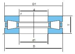 大型推力滚子轴承