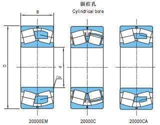 调心滚子轴承(d25~200)