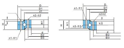 转盘轴承(d320~1200)