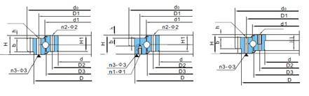 转盘轴承(d602~710)