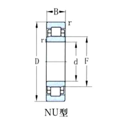 圓柱滾子軸承
