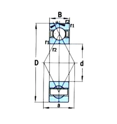 角接觸軸承