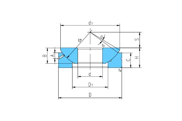 推力關節軸承