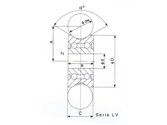 非标定制轴承