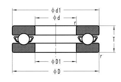 混合陶瓷軸承