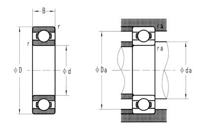 不鏽鋼軸承系列