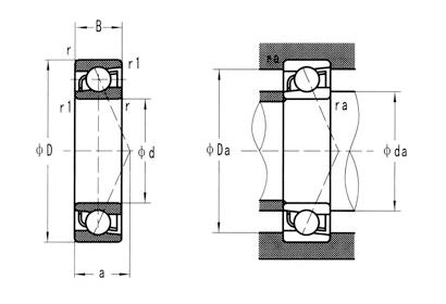 不銹鋼軸承系列