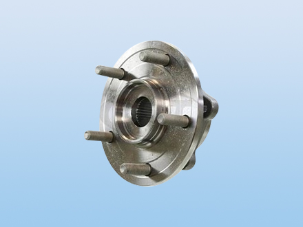 Clutch bearing for automotive air-condition electromagnetism