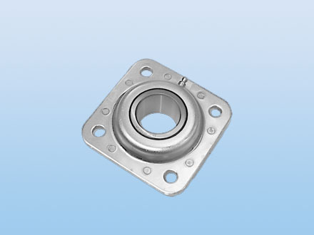 Flanged disc units-round bore