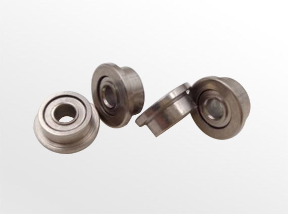 軸承鋼公制微型法蘭軸承