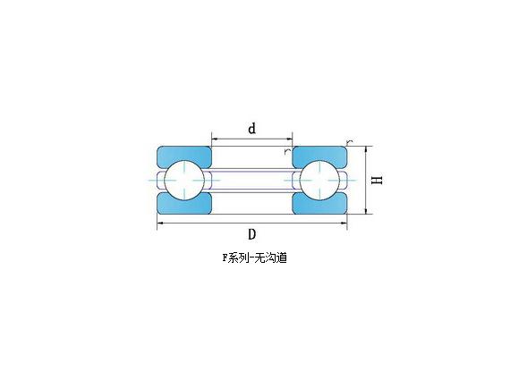 轴承钢带沟道平面推力轴承