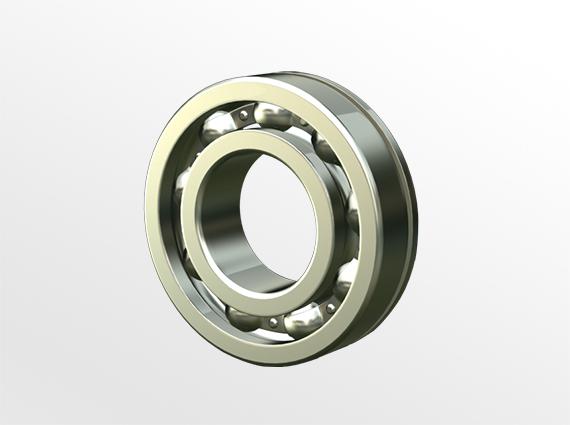 带止动环槽,带止动环槽及防尘盖型 63/N,NR,ZNR系列