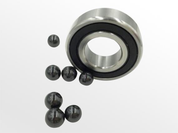 不锈钢内外圈+Si3N4陶瓷球