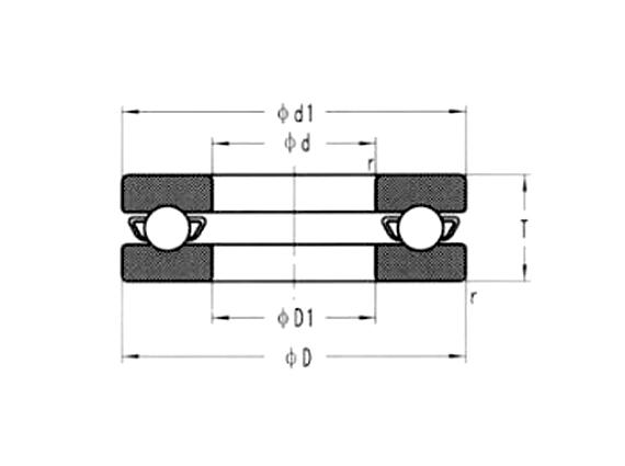 中小型陶瓷推力軸承