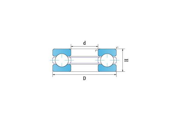 不銹鋼中小型平面推力軸承