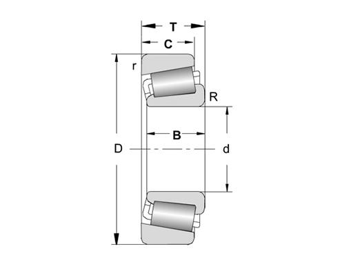 单列圆锥滚子轴承