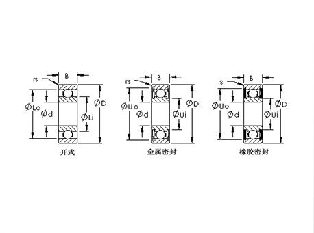 公制微型轴承