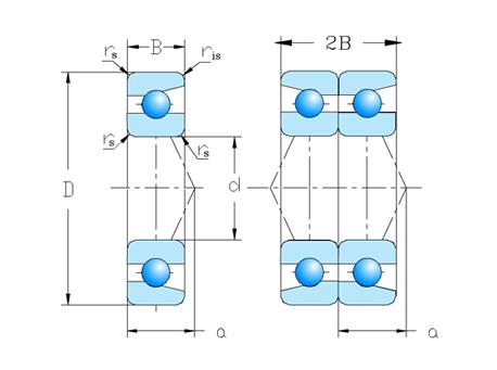 单列成对配置   DB系列