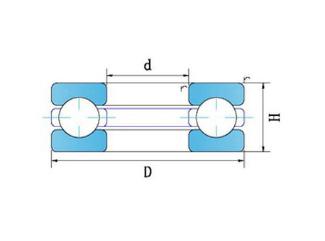 微型陶瓷平面推力轴承