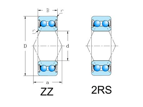 52/2RS,ZZ系列