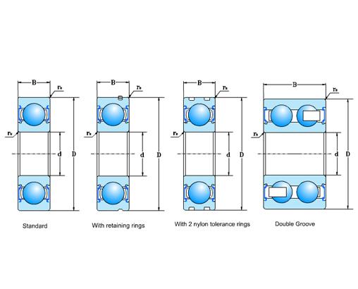 Aout Alternatour Ball Bearings
