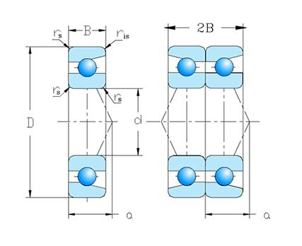 单列成对配置 DB 系列