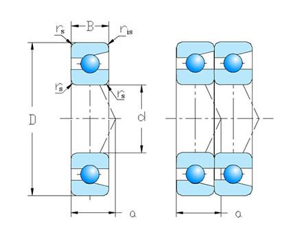 单列成对配置 DT 系列