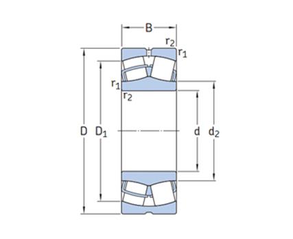 调心滚子轴承E型