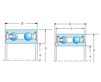 汽车空压机电磁离合器轴承