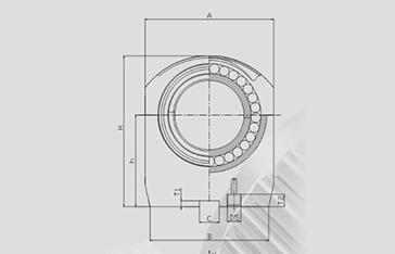 水冷式剖分圓柱滾子軸承