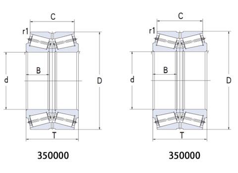 雙列圓錐滾子軸承(CAD