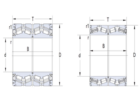 British four row tapered roller (CAD)
