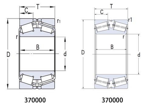 雙列圓錐滾子軸承(CAD)