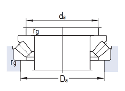 Thrust self aligning roller bearing (CAD)