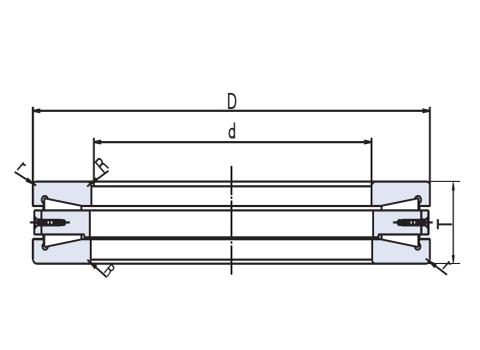 Thrust taper roller bearing