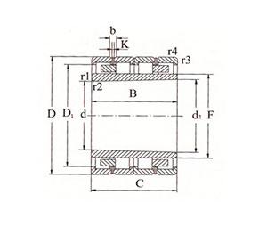 d 255-950mm