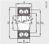 30..-B-2Z、38..-B-2Z、32-B-2Z <br/>α= 25°