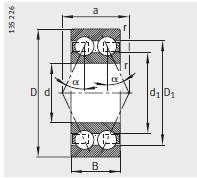 38..-B、30..-B、32..-B、33..-B <br/>α= 25°