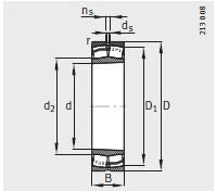 圆锥孔<br/> K = 锥度1:12<br/>K30 = 锥度1:30