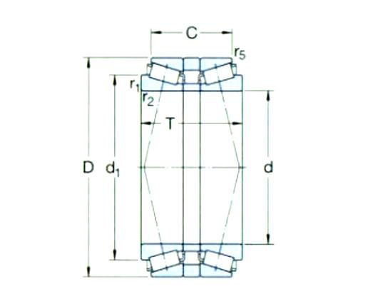 背对背配置d 180-260mm