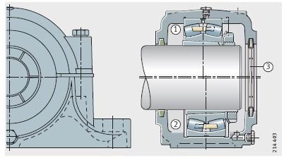圆锥轴承安装方法
