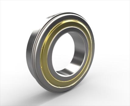 带止动槽和防尘盖的单列深沟球轴承d 10-60mm
