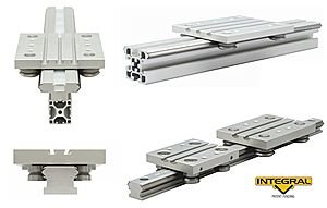 linear guide systems—Integral V Technology