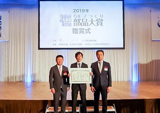 NSK高速靜音緊湊型滾珠絲杠榮獲2019年超級零部件制造大獎賽獎勵獎