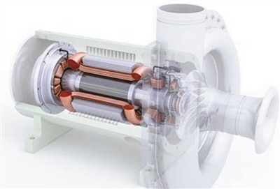 空调电机轴承拆卸图解