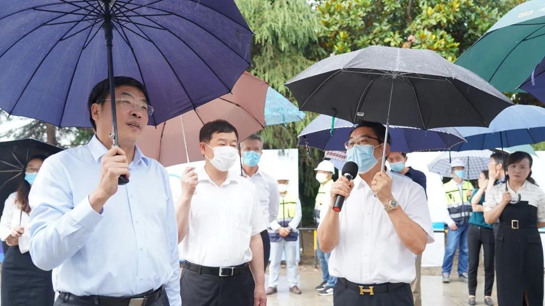 江苏省副省长马欣一行调研舍弗勒太仓新基地建设项目
